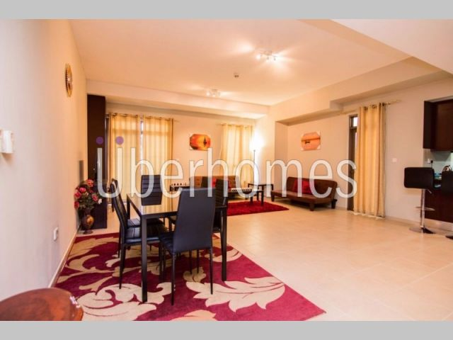For RENT large 1BR in JBR Amwaj from FEB 2017